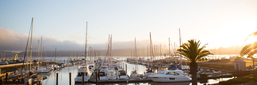 Clipper Yacht Harbor Sausalito California